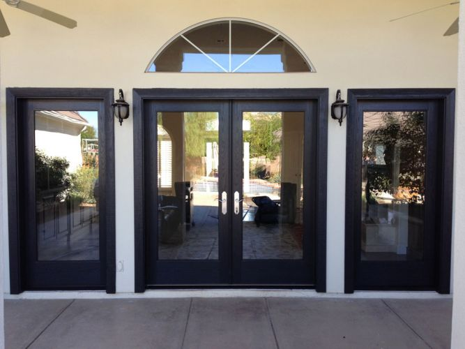 French-Doors-With-Sidelites-Exterior-pinted-black