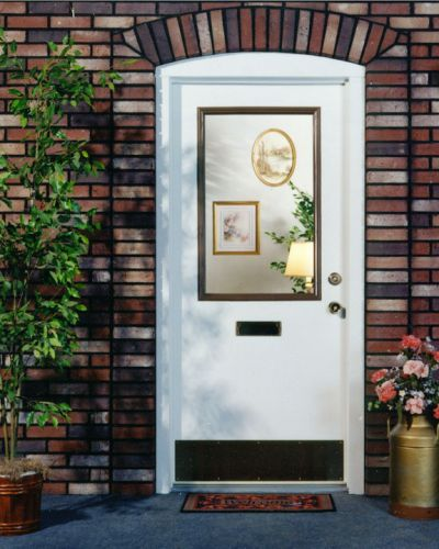 Traditional-Oxford-entry-door-half-lite