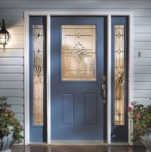 Blue Entry Door