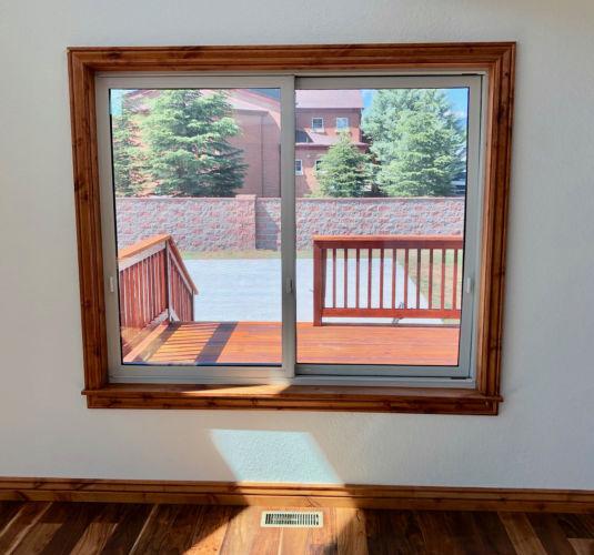 Slider Windows Interior
